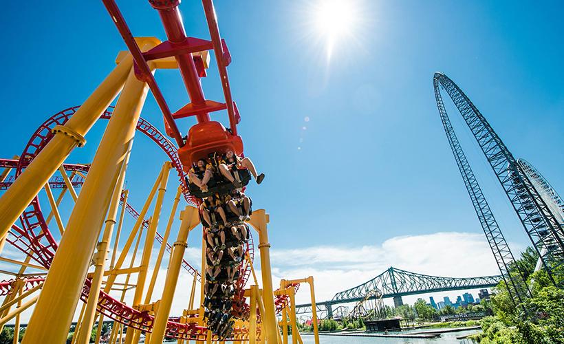 La Ronde Theme Park Montreall Commontreall Com