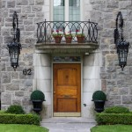 Exploring Montreal: Pretty Doors in Westmount