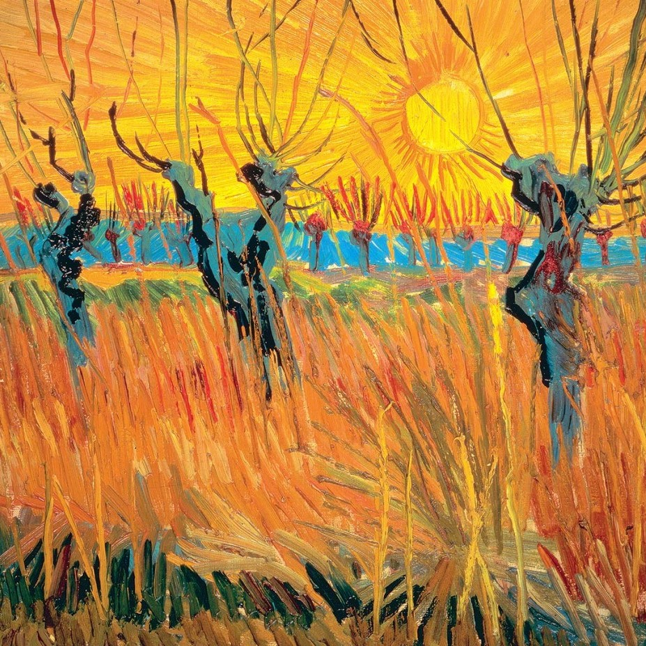 van gogh and kandinsky Paintings like van gogh's 'sunflowers' (1888) opened our eyes to the intensity   kandinsky's painting was moving away from the depiction of realistic forms into.