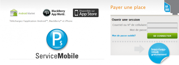 P$ Mobile Service App Montreal