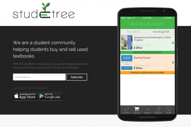 StudEtree Mobile App Montreal1
