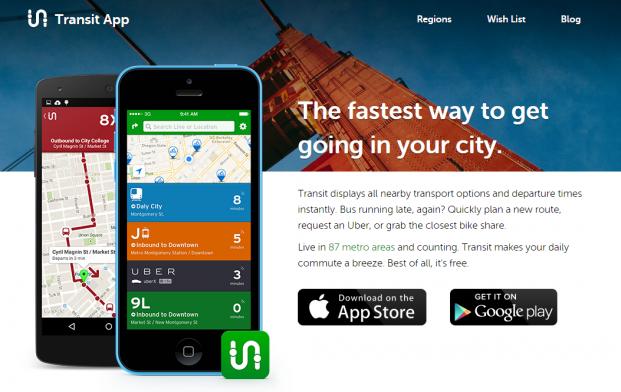 Transit Mobile App Montreal