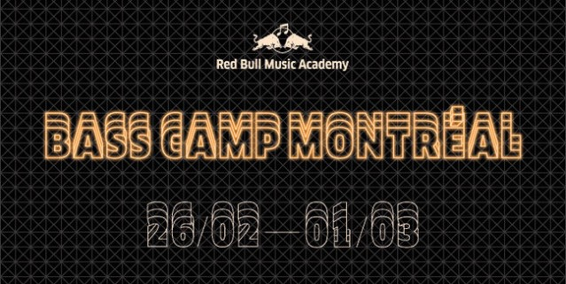 Red Bull Music Academy bass camp Montreal 2015
