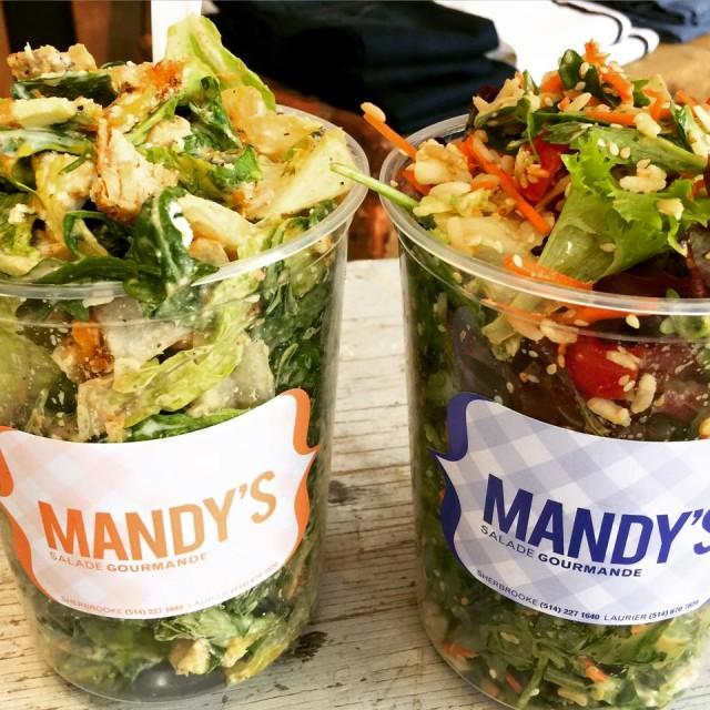 Mandys Salad Bar Montreal