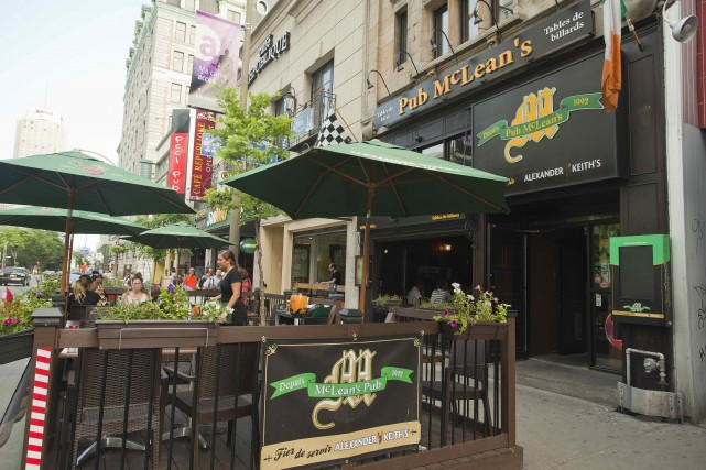 McLeans Pub Montreal
