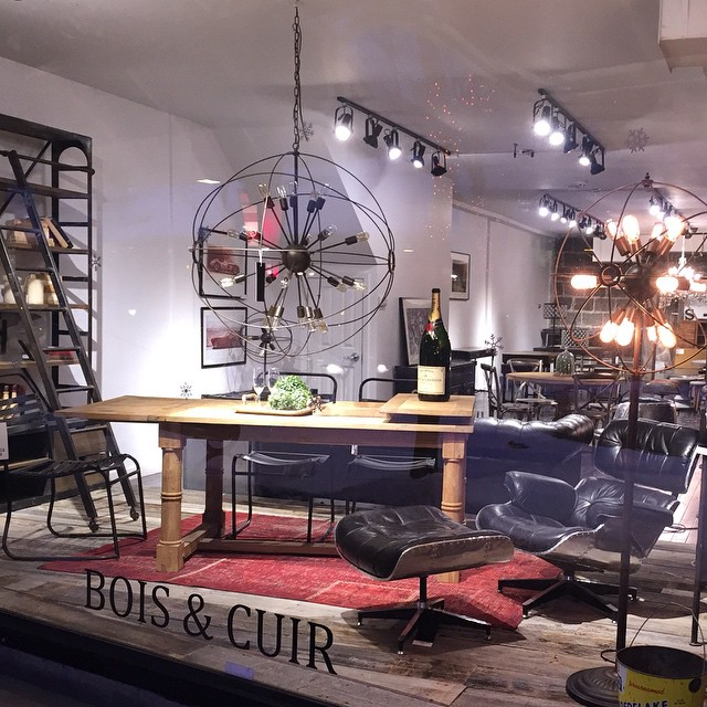Bois cuir st hubert s trendy home d cor store - Trendy home decor stores plan ...