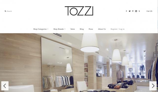 Boutique Tozzi Montreal1