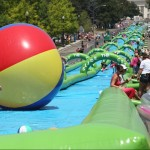 Slide the City: 1000ft Water Slide Slides into Montreal