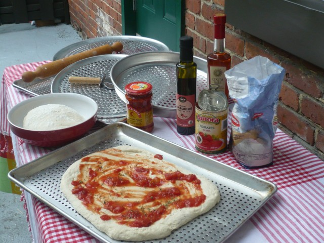 Foodie-Mezza Luna Montreal Fathers Day