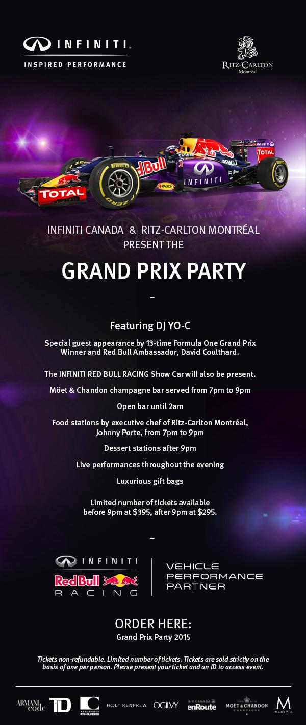Ritz-Carlton Grand Prix Party Montreal (1)