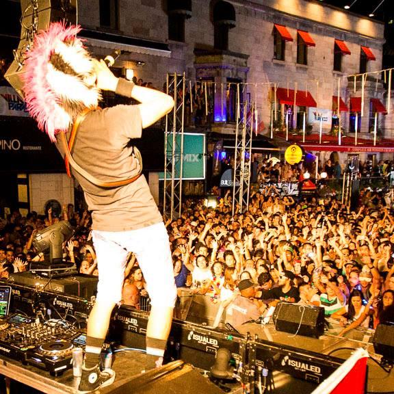 Bud Light Villa Paradizo Free EDM Festival Montreal (3)