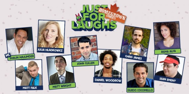 Homegrown Comics Just for Laughs Festival Montreal