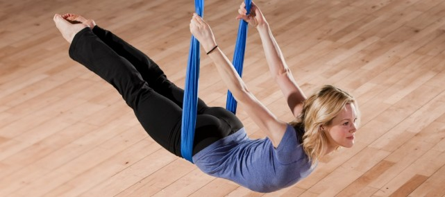 Club Sportif M.A.A. Antigravity yoga Montreal