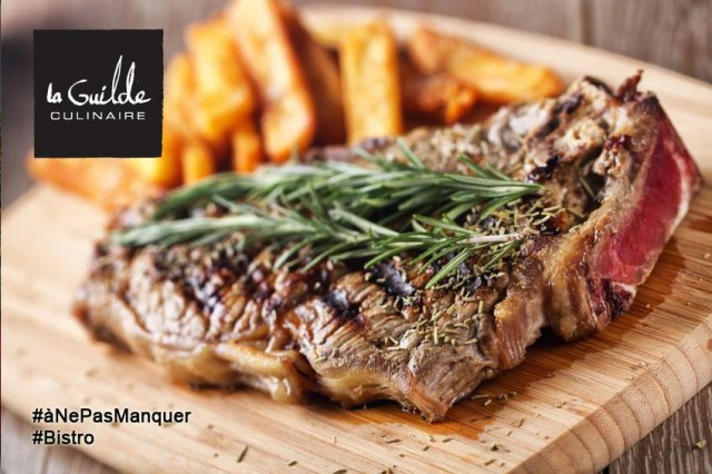 La Guilde Culinaire Montreal BBQ class steak 2