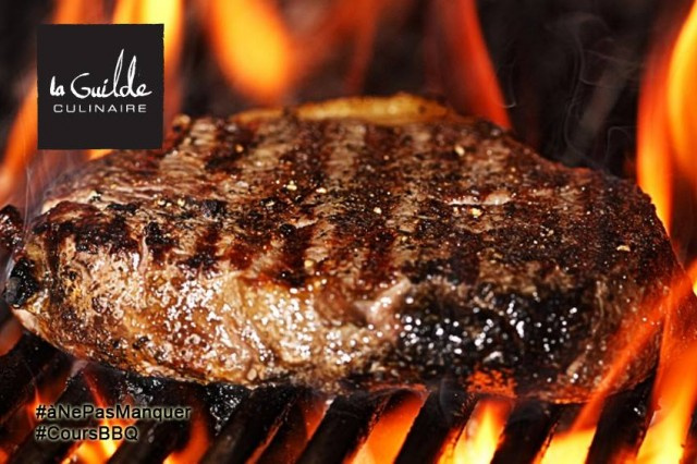 La Guilde Culinaire Montreal BBQ class steak