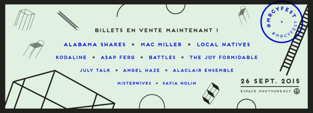 MRCY festival montreal