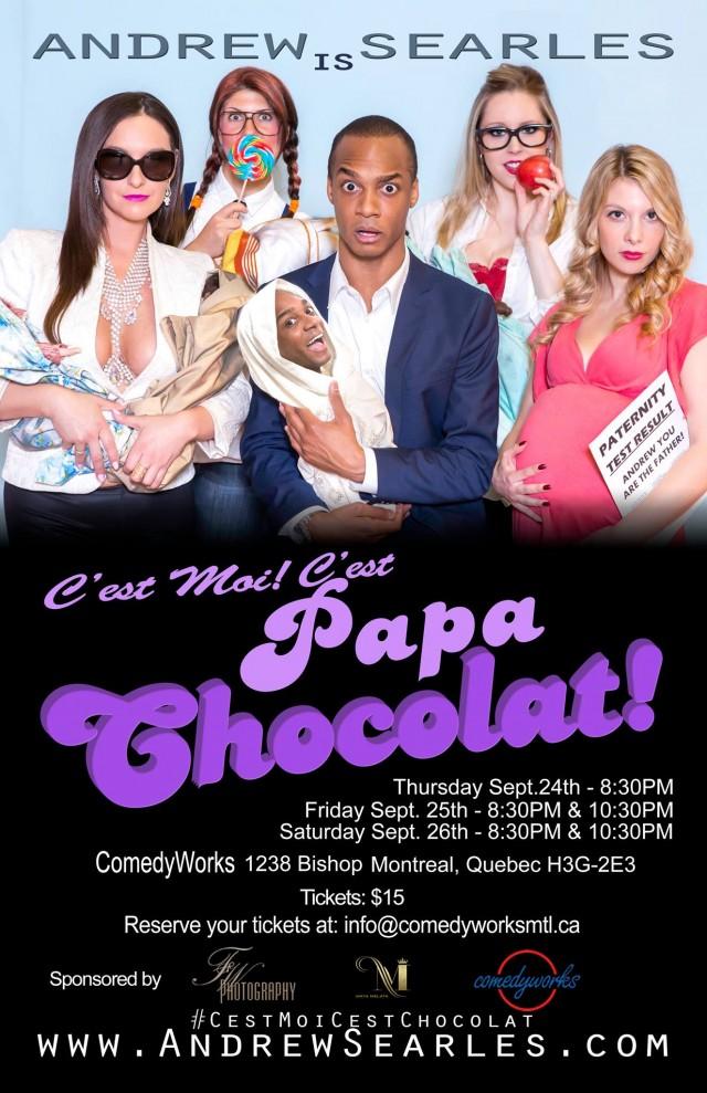 Cest moi! cest papa chocolat montreal