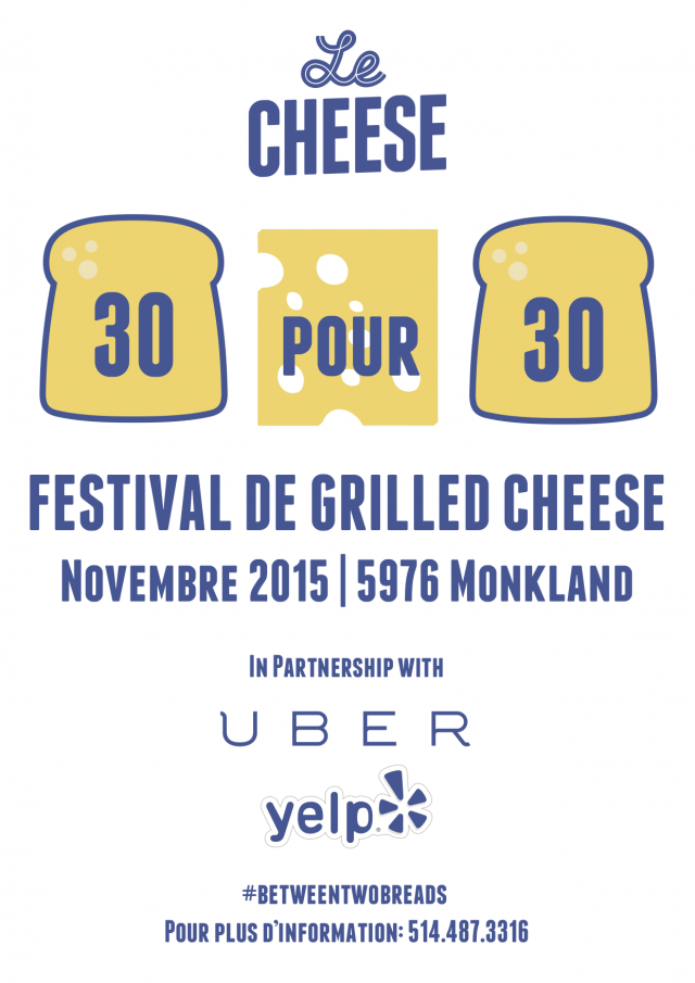 Le Cheese 30 for 30 Montreal Monkland (2)