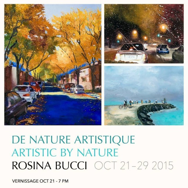 Rosina Bucci Artistic by Nature Montreal