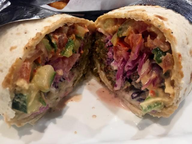 Chez Benny Express, Montreal Kosher Restaurant - Falafel Laffa, Montreal Food Divas