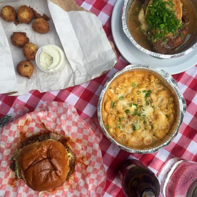 Dinette Triple Crown, Montreal Restaurant - Big Nasty & brisket sandwich, Montreal Food Divas