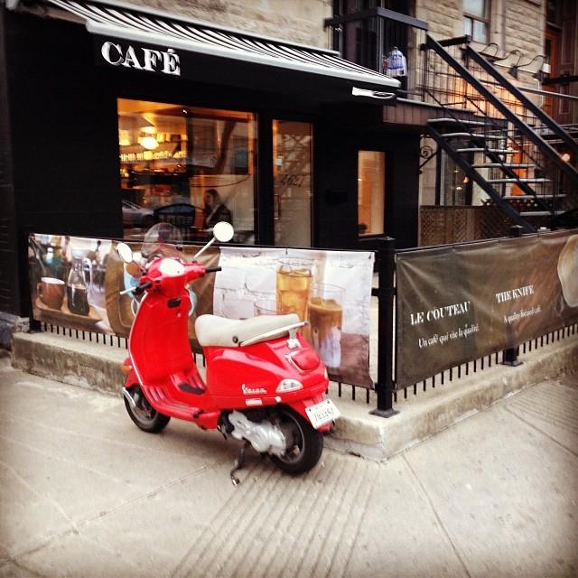 Le couteau cafe Montreal