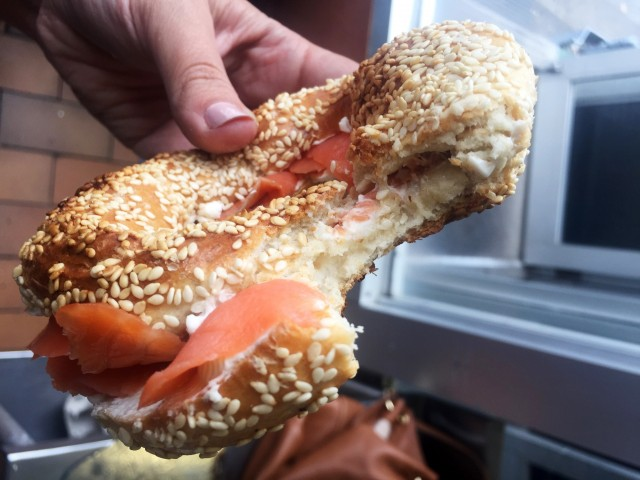 St-Viateur Bagel Shop, Montreal Restaurant & Bakery - Bagel & Smoked Salmon, montreal food divas