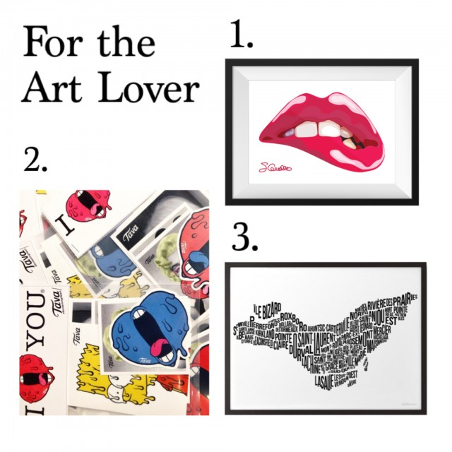 The Art Lover Holiday guift guide montreal