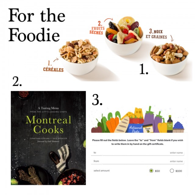 the foodie holiday gift guide montreal