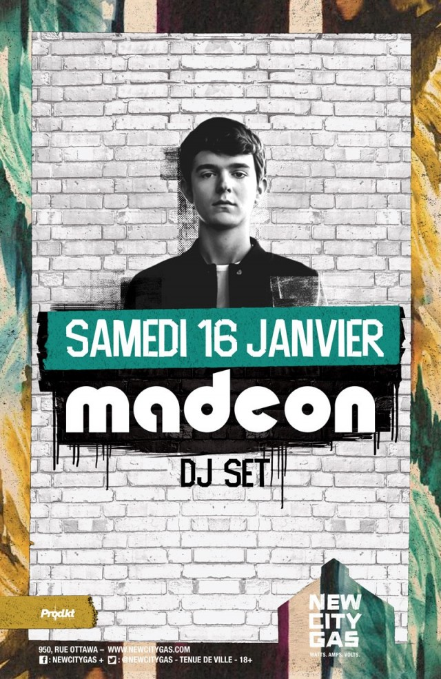 Montreall Music Fix January 2016 Madeon