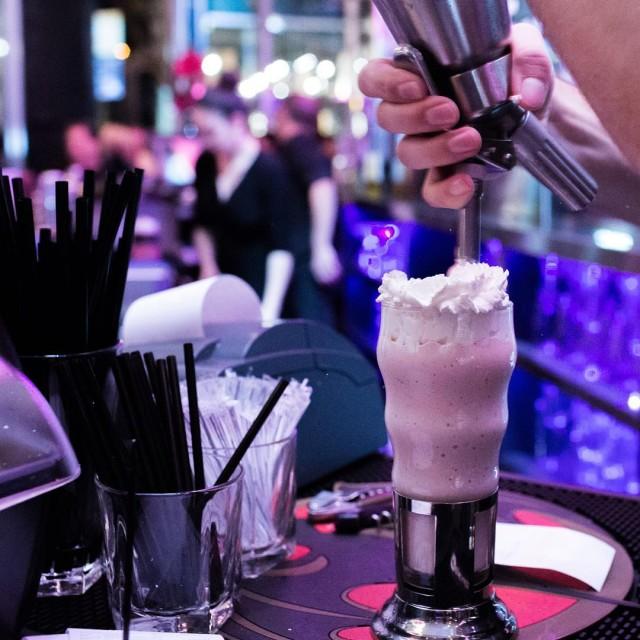 Deville Diner Bar Montreal Milkshakes