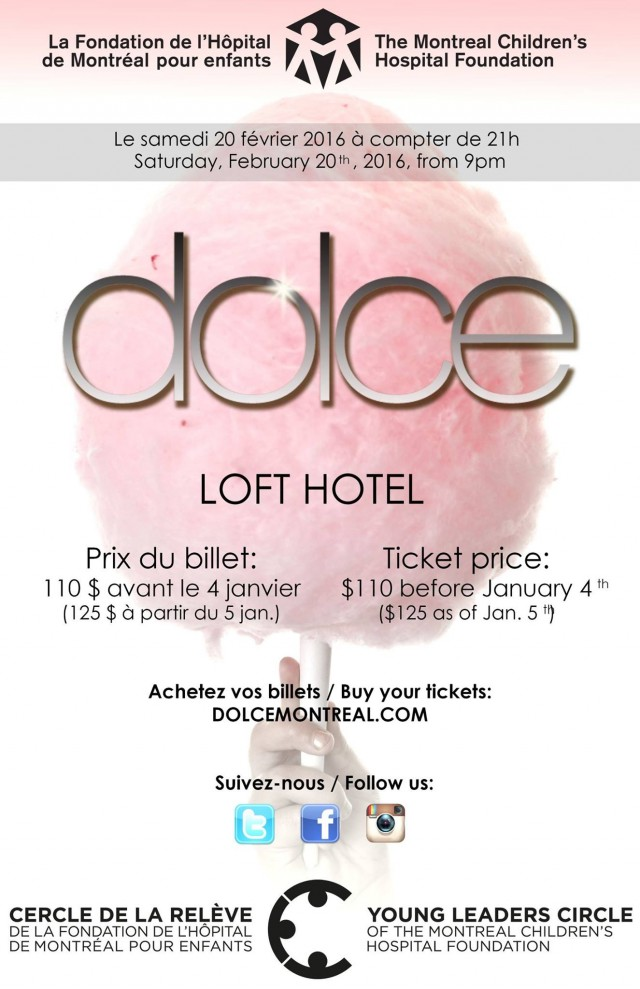 dolce 1 montreal childrens hospital