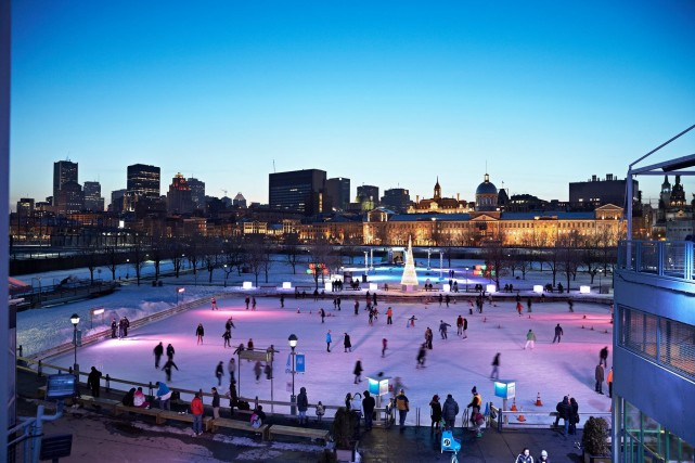 ice skating montreal