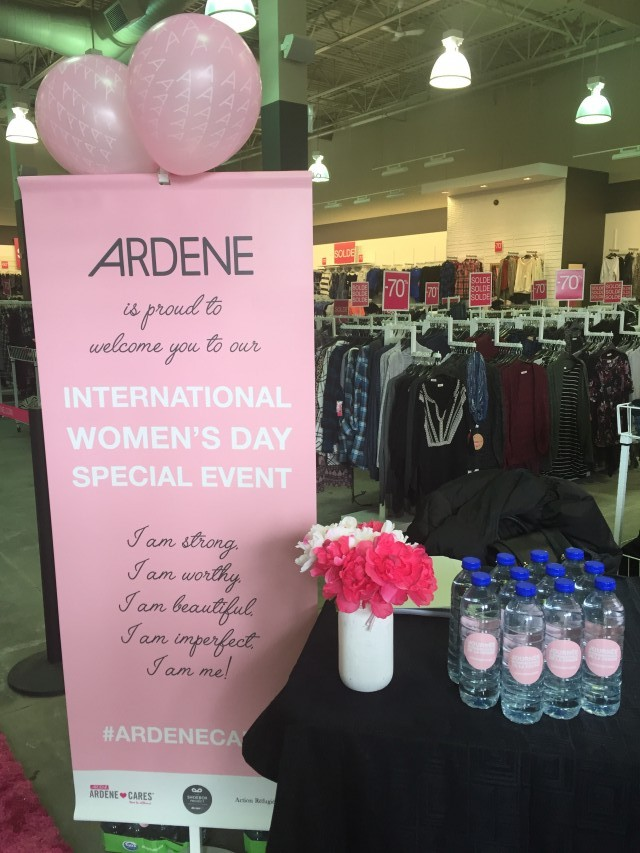 Ardene International Womens Day Charity Fundraiser (1)