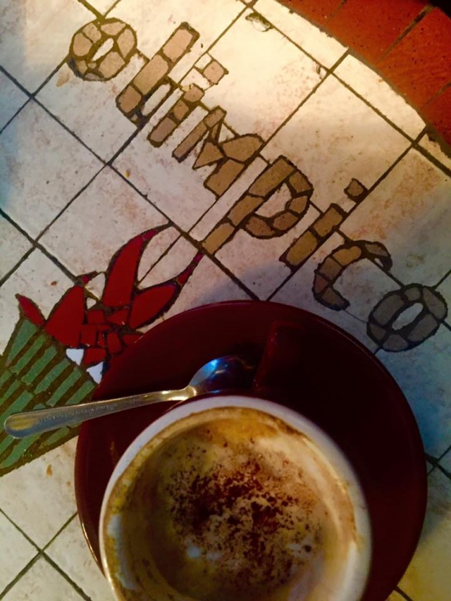 Cafe Olimpico Mile End Montreal coffee