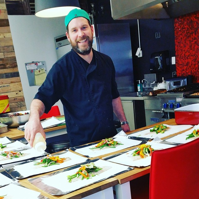Chef James Mitchel private chef mothers day montreal