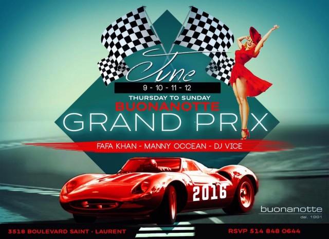 Buonanotte Grand Prix Montreal 2016