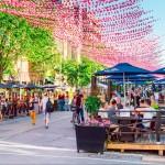 The Gay Village is Montreal's Outdoor Art Exhibit