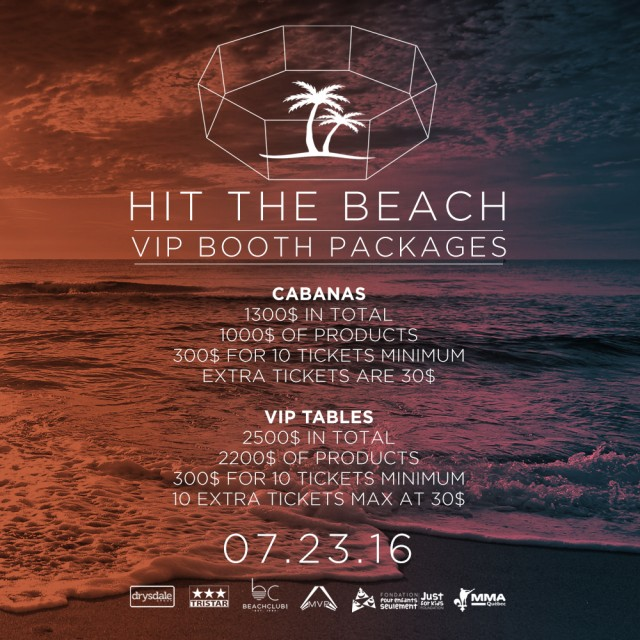 Hit the beach Beach Club Montreal (3)