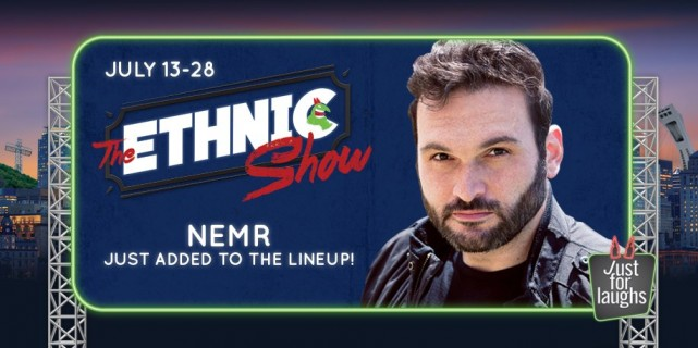 Nemr Abou Nassar Montreal Just for Laughs Festival 2016 (3)