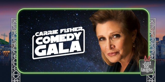 carrie fisher just for laughs festival montreal