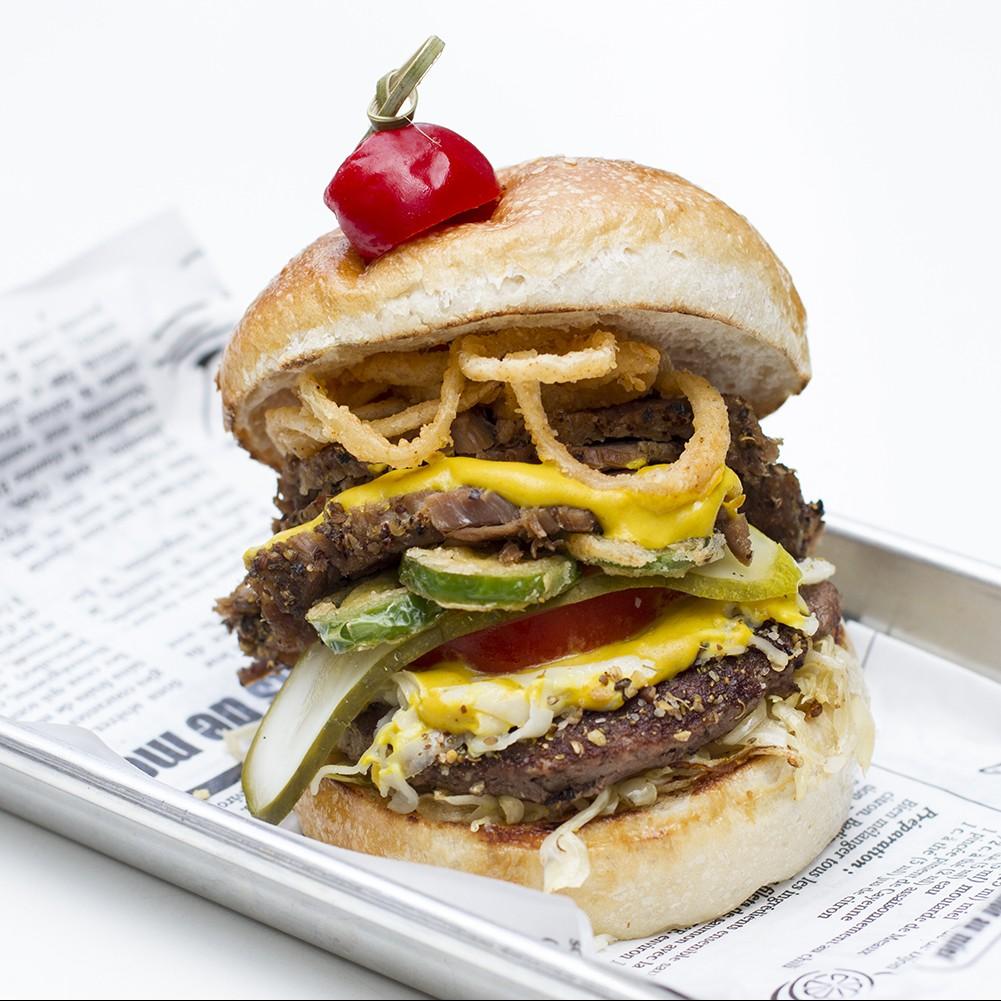 Bulldog Beer House le burger week montreal 2016