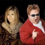 Cher, Elton John, Barbra Streisand, & Celine Dion in Montreal