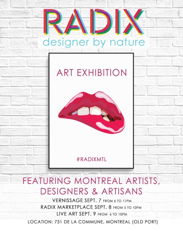 Radix Montreal artist vernissage (1)