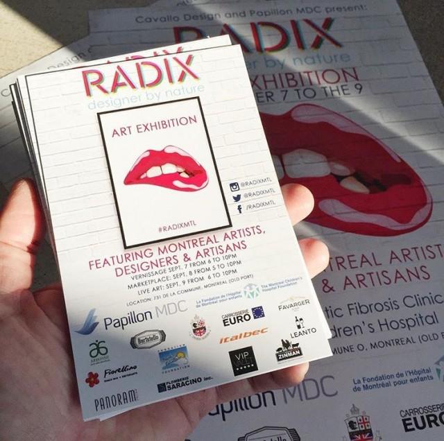 Radix Montreal artist vernissage (8)