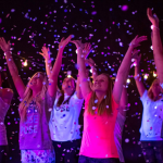 You'll Want to Go to Montreal's Glow-in-the-Dark Yoga Party
