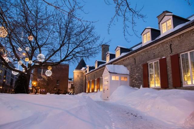 Le chateau ramezay montreal