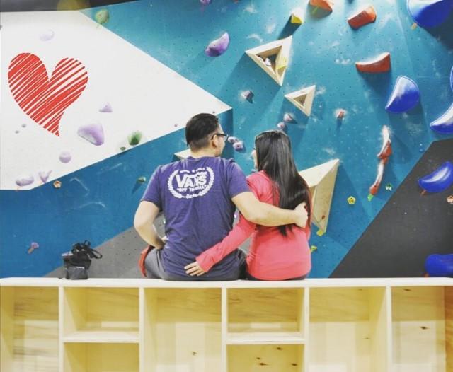 beta bloc rock climbing montreal valentines day