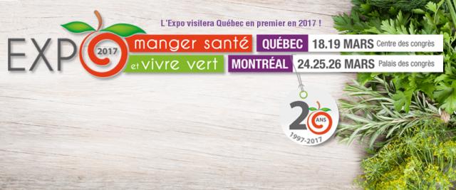 Expo Manger Sante et Vivre Vert_Montreal_2017 1
