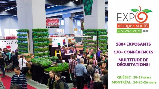Expo Manger Sante et Vivre Vert_Montreal_2017 2